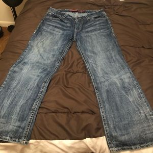 rock n roll men's jeans